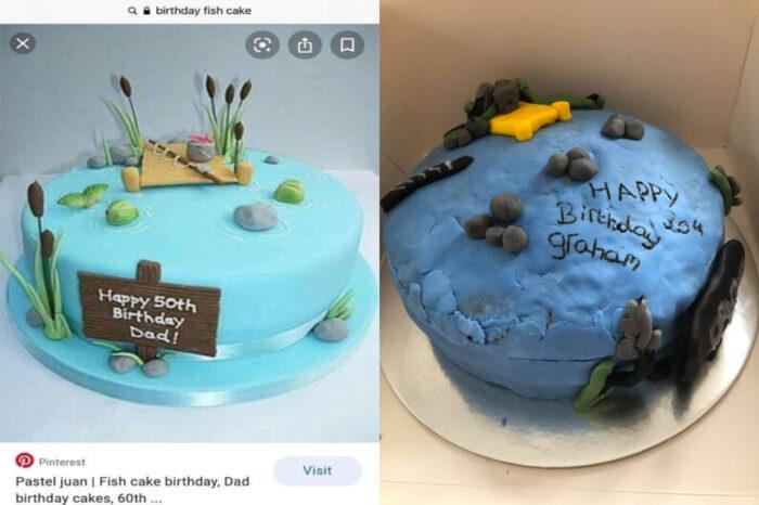 Kek Hari Jadi Yang Tak Berapa Jadi