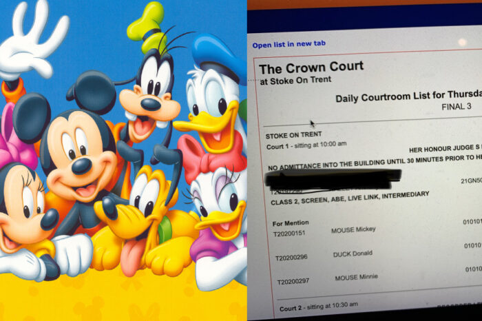 Mickey Mouse, Donald Duck, Snow White 'Dipanggil Ke Mahkamah'