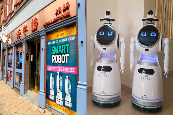 Robot Ambil dan Hantar Pesanan Makanan