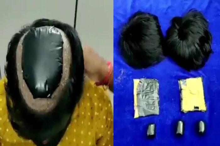 Gaya Rambut Mencurigakan, Lelaki Sembunyi Emas Bawah Rambut Palsu